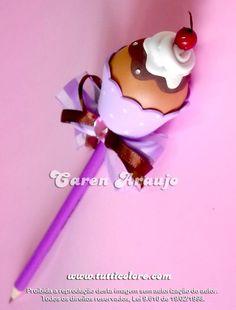 cupcakes pencil
