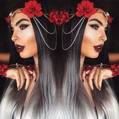 If there was anything more 'instragram worthy' it would be ZOEVA. Colored Wigs, Coloured Hair, Beauty Makeup, Hair Makeup, Hair Beauty, Beauty Bar, Different Hairstyles, Cool Hairstyles, Teenage Hairstyles
