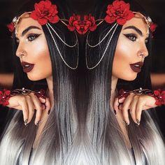 @missjazminad perfection  #hair #makeup