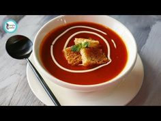 Tomato Soup By Healthy Food Fusion - YouTube