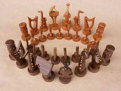 Music Themed Chess Set !