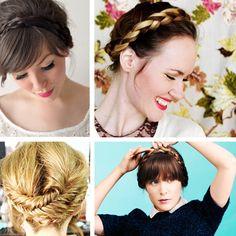 Crown braid tutorials