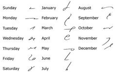 Gregg Shorthand - save for reference Shorthand Alphabet, Shorthand Writing, School Memories, School Days, Note Taking Tips, Graffiti Lettering, Greggs, Always Learning, Study Notes