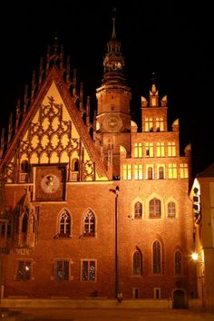 #Townhall in #Wroclaw, #Poland