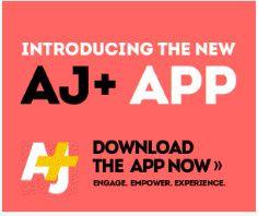 AJ+ app. Septembre 2014
