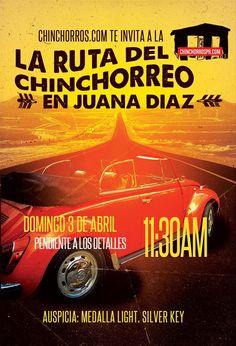 Ruta del Chinchorreo @ Juana Díaz #sondeaquipr #rutadelchinchorreo #juanadiaz