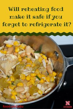 Learn why reheating food may not make it safe if you forget to refrigerate it. Home Recipes, Healthy Recipes, Food Poisoning, Fast Food Restaurant, Food Hacks, Food Tips, Food Safety, Safe Food, Easy Meals