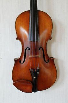 Beautiful old violin.