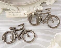 Bicycle Bottle Opener - Unique Wedding Favors
