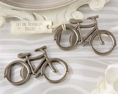 Bicycle Bottle Opener - Unique Wedding Favors