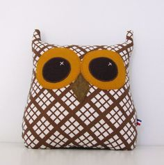 So cute!! bonjour owl by lejeune on Etsy, $39.00