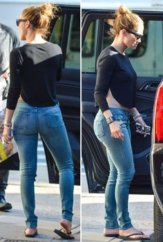 663e9d8e681 Look of the Day  J.Lo in all over Denim
