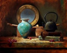 Asian Treasures  by LOIS EAKIN   Oil 16 x 20