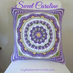 Ravelry: Sweet Caroline pattern by Helen Shrimpton--pillow cushion