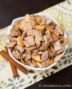 Apple Cinnamon Puppy Chow #glutenfree