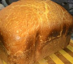 Хлеб белый Кирпичик в хлебопечке