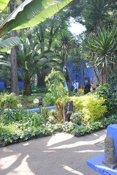 """""""Casa Azul""""  Frida Kahlo y Diego Rivera en Coyoacán, DF, México."""