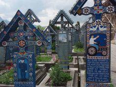 Cimitirul vesel de la Sapanta, Maramures Romania, Big Ben, Culture, Heart, Building, Places, Travel, Stones, Viajes