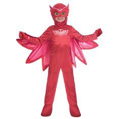 PJ Masks Child Deluxe Owlette Costume by Fancy Dress Ball Superhero Costumes Kids, Fancy Dress Costumes Kids, Superhero Fancy Dress, Childrens Fancy Dress, Fancy Dress For Kids, Halloween Party Costumes, Girl Costumes, Fantasia Do Star Wars, Fantasia Pj Masks