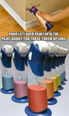 Left over paint, touch up..... want!!""""