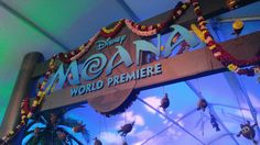 nice An Inside Look At The Red Carpet Premiere of Moana!