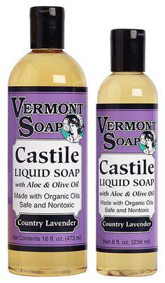 Country Lavender Castile Liquid Soap - 16 Oz. from Nature's Crib