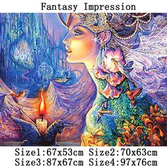 Find More Diamond Painting Cross Stitch Information about Magical Impression Pattern Diamond Embroidery DIY Needlework Diamond Painting Cross Stitch 5D Rhinestones Painting Home Decor,High Quality decorative painting surfaces,China painting decorative tiles Suppliers, Cheap painting 3d from Fashion&House on Aliexpress.com