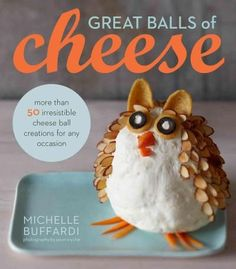Holiday Cheese Ball Shapes I probably need this book! Appetizer Dips, Appetizers For Party, Appetizer Recipes, Potluck Recipes, Fun Recipes, Unique Recipes, Family Recipes, Drink Recipes, Recipies