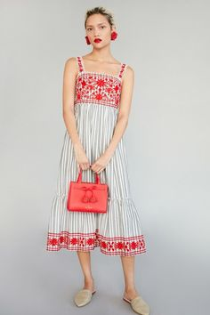 Kate Spade New York Pre-Fall 2017 Collection Photos - Vogue Fashion 2017, Fashion News, Fashion Show, Fashion Trends, Trending Fashion, Casual Chic, Boho Chic, Dress Casual, Casual Wear