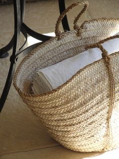 Saw something like this basket on our local farmes market. They import them from africa. Want it