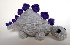 Free Knitting Pattern - Toys, Dolls & Stuff Animals: Dinosaur Jr.
