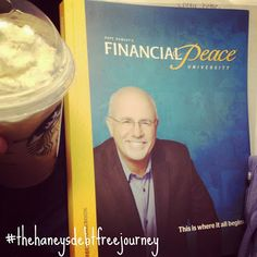 Keeping Up With The Haneys -- How we started our debt free journey with Dave Ramsey's Financial Peace University. #daveramsey #debtfree #savingmoney #frugalmama