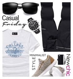 """NEWCHIC//12"" by tamarasimic ❤ liked on Polyvore featuring men's fashion and menswear"