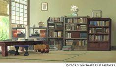 WEBアニメスタイル   【artwork】『サマーウォーズ』第8回 美術ボード1