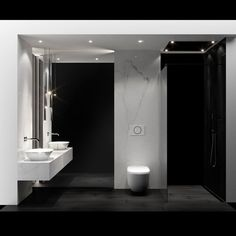 """projekt twórców z projektyw.pl, którym zdobyli nagrodę HOFF Design Award w kategorii """"Ponadczasowa klasyka""""! #nagroda #design #projekt #wizualizacja #wnętrze #łazienka #wystrójwnętrz #wystrój #łazienki #aranżacja #loft #nowocześnie #elegancko #bathroomdesign"""
