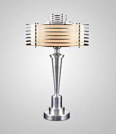 TERRY TYNAN  Machine Age Art Deco Lamp