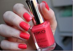 Kiko Satin LE - 444 Satin, Bunt, Nail Polish, Nails, Beauty, Colors, Finger Nails, Ongles, Satin Tulle