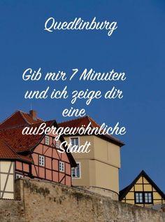 Quedlinburg ist immer eine Reise wert, wenn du Fachwerkhäuser und kleine enge Gassen magst. Ein Traum in Deutschland.