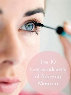 PinTutorials: Everything you need to know about applying mascara