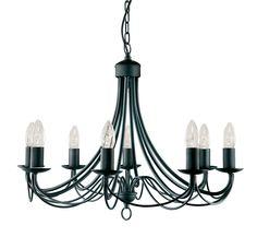 Lámpara De Suspensión, Colgante Luz metal hierro Negro/Mate nuevo in Casa, jardín y bricolaje, Iluminación, Iluminación de techo | eBay