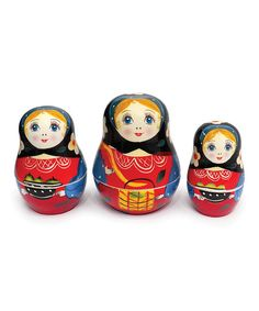Alenkaya Measuryoshka Measuring Cup Set