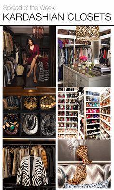 Kim Kardashian House Closet See what's inside Kim Kardashian's Closet at kimkardashianweight.com