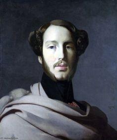 por Jean Auguste Dominique Ingres (1780-1867, France)