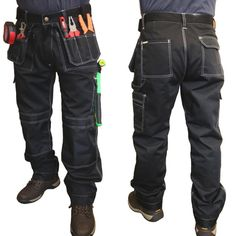 Personal Protective Equipment (ppe) Able Workwear Contrast Trousers Portwest Elasticated Work Pants Texo Tx11 Kneepad Business & Industrial