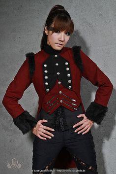 Visual Kei Coat Gothic Mantel