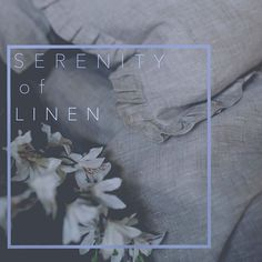 Calm smooth linens bring you peace and harmony  #lenoklinencom #linenbedding #allorganic #etsy #plattecollection #rufflepillows