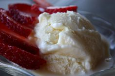 Homemade Vanilla Ice Cream Adapted from The Perfect Scoop by David Lebovitz Yield: 2 quarts  3 cups whole milk 3 cups heavy cream  A pinch of salt 1 1/2 cups sugar 10 large egg yolks 2 teaspoons pure vanilla extract