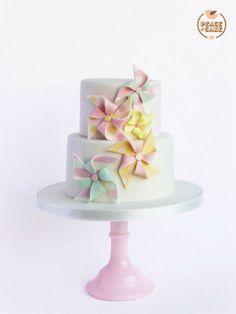 Pinwheel Cake by Peace of Cake