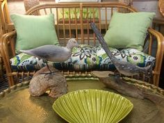Seagull and Sand Piper Table Decor   Seagull On Drift $55  San Piper On Drift  $65  Eclectic Treasures Booth #8279  Lula B's  1010 N. Riverfront Blvd. Dallas, TX 75207  Like us on Faceb
