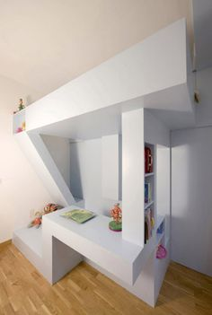 All-in-One Creative Children's Bedroom & Playroom Design